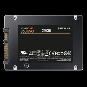 اس اس دی اینترنال سامسونگ مدل Evo 860 ظرفیت 250 گیگابایت