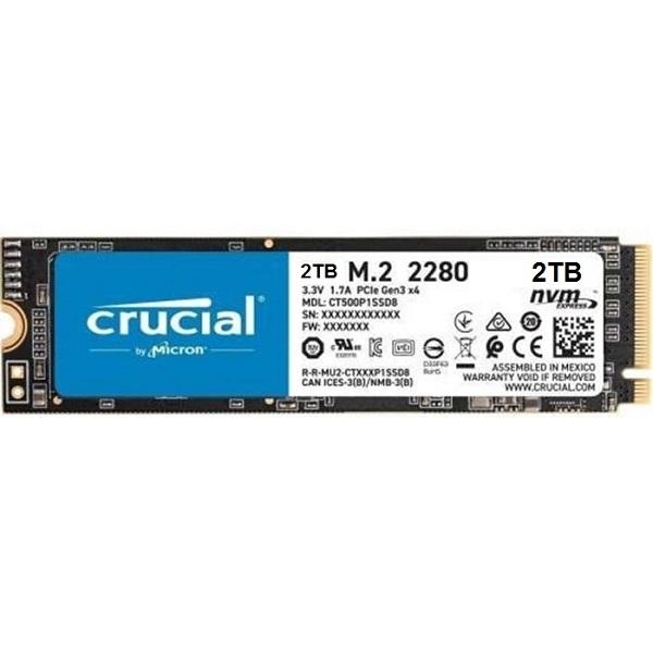 P2 NVMe M.2 2280 2TB